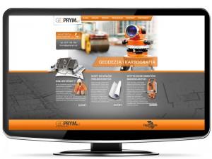 Strona dla geodety Geoprym
