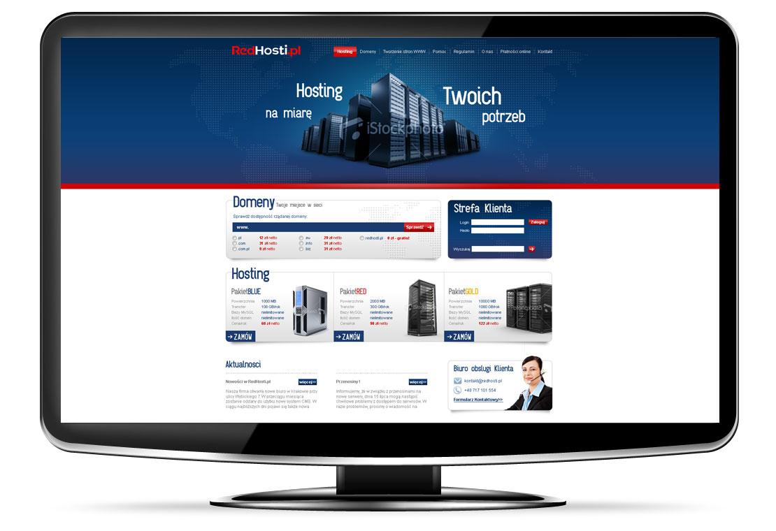 strony www hosting