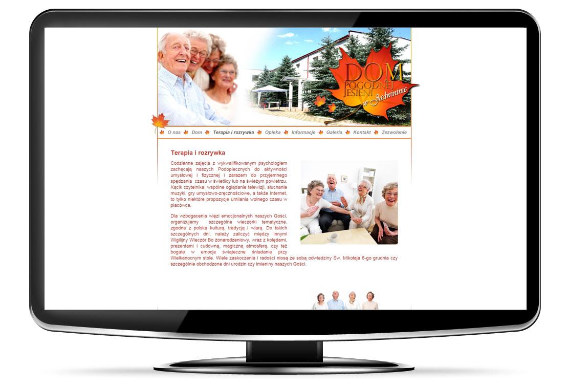 Strona domu spokojnej starości