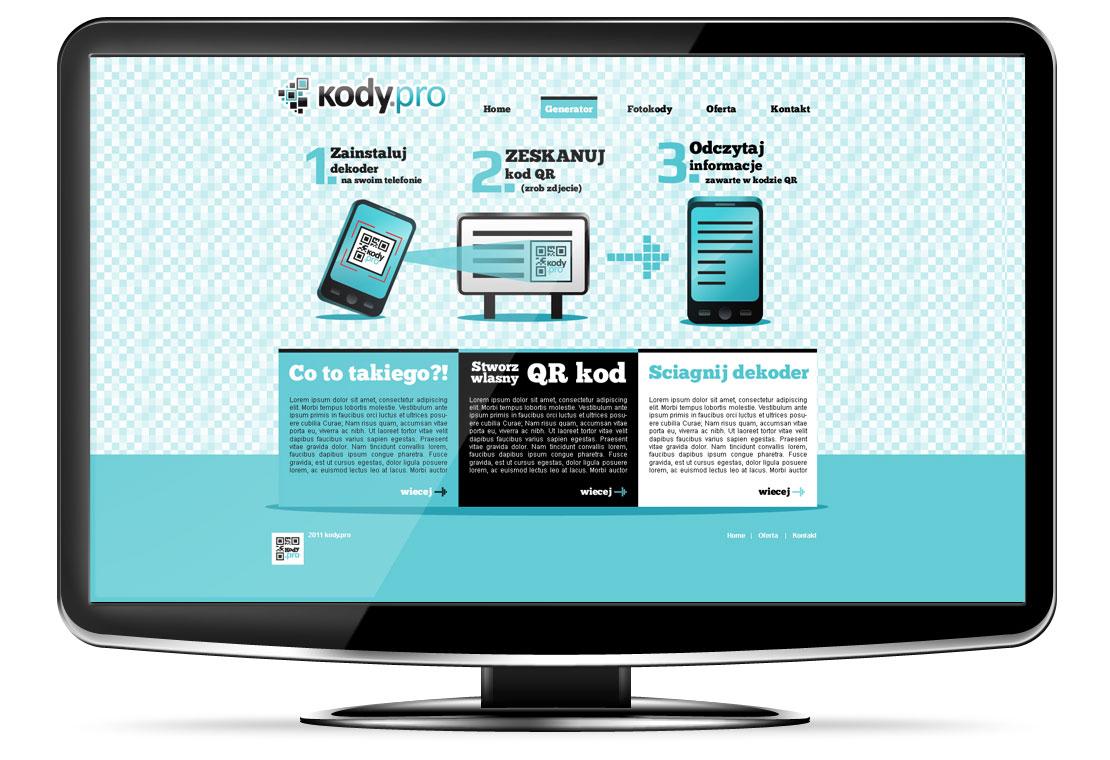 strony www kody