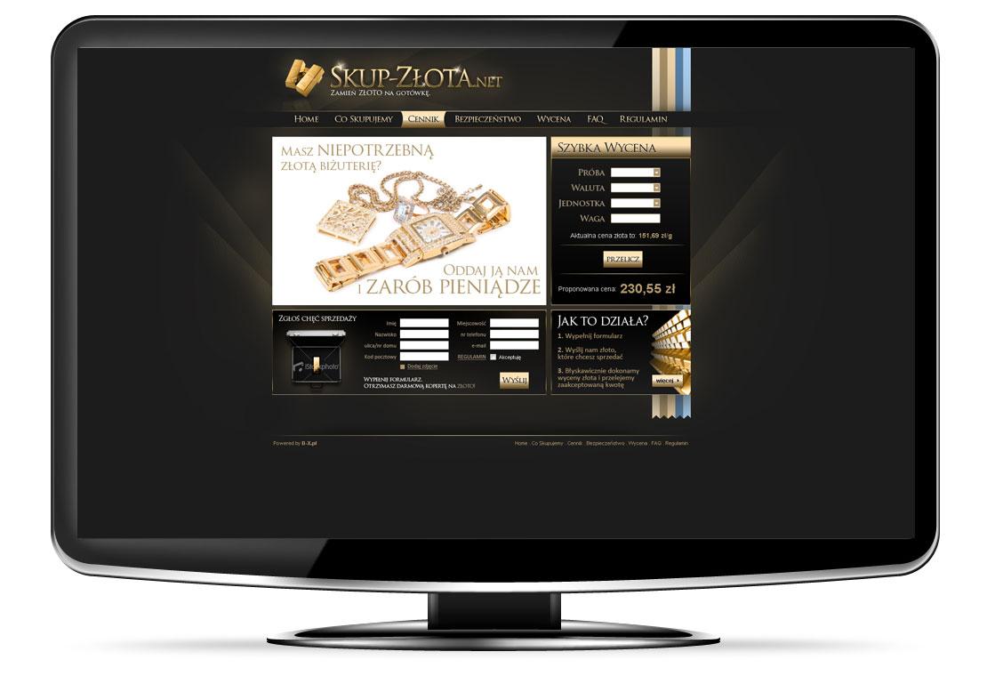 strony www skup