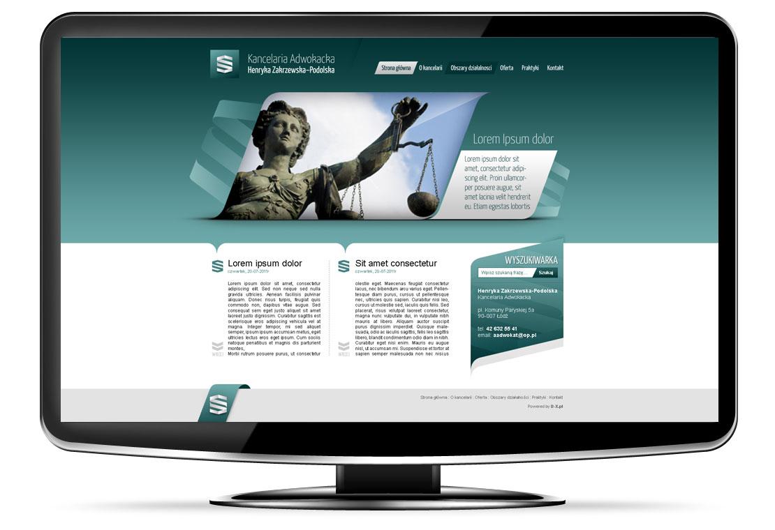 Strona dla adwokata